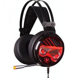 headphone a4 bloody m630 black-red+microphone