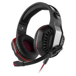 headphone sven ap-u990mv black-red+microphone