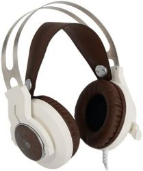 headphone a4 bloody g430 white-brown+microphone